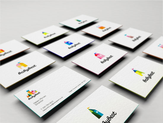 45 most creative business cards using illustrations baby best illustration business cards reheart Image collections