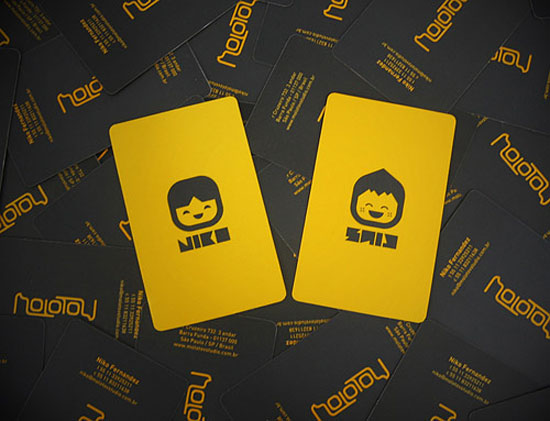 Illustration Business Cards