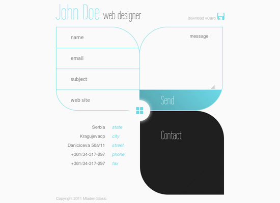 Best vCard Templates