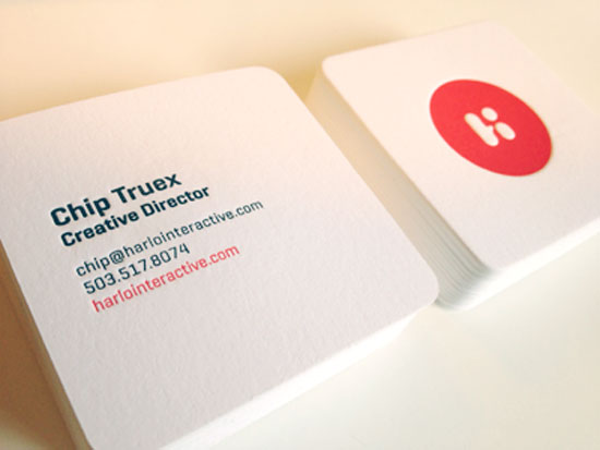 38 Creative Square Business Card Designs