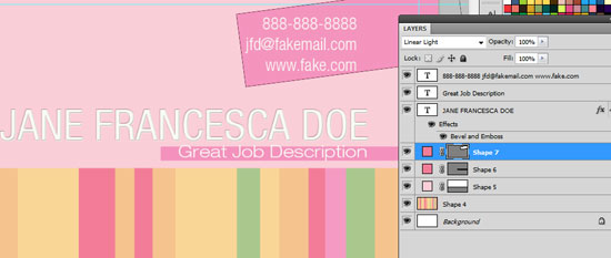 Business Card Design Tutorial