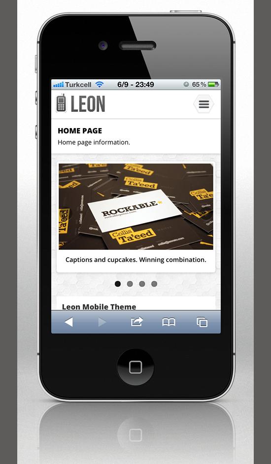 Mobile Website Templates