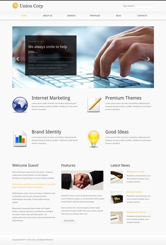 Business Website Templates