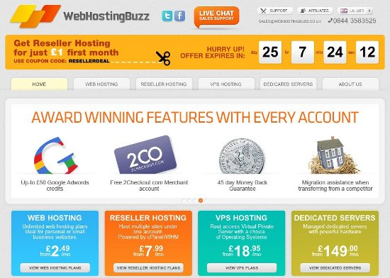 Free Web Hosting Accounts WebHostingBuzz