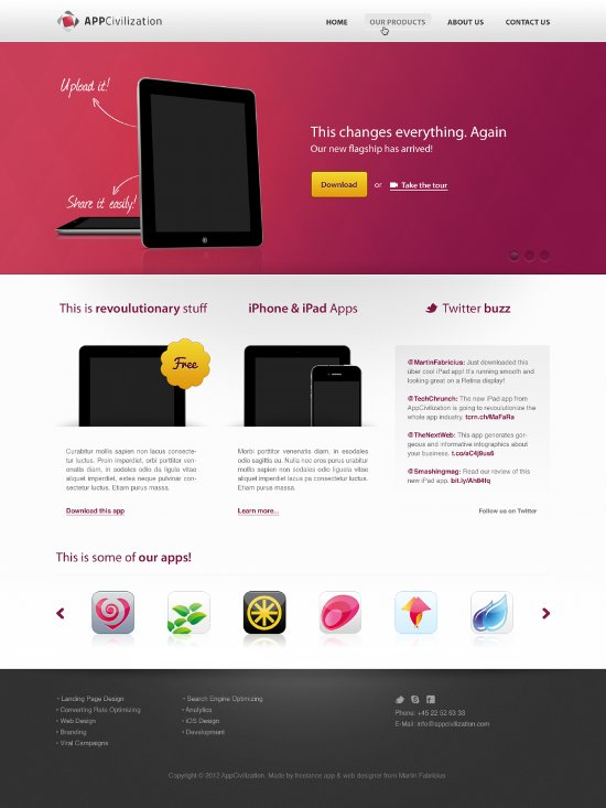 free website design templates - 25 high quality free website templates in psd