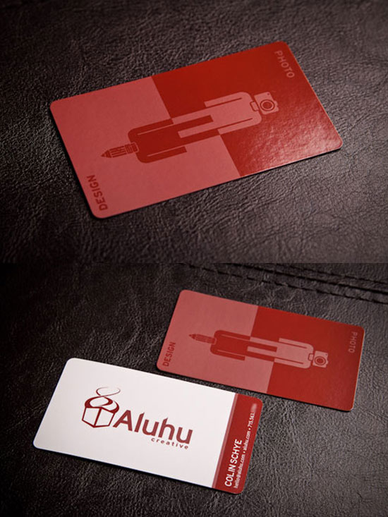 27 beautiful red business card designs business card design red colourmoves