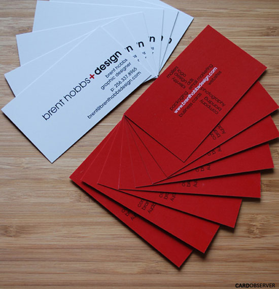 27 Beautiful Red Business Card Designs