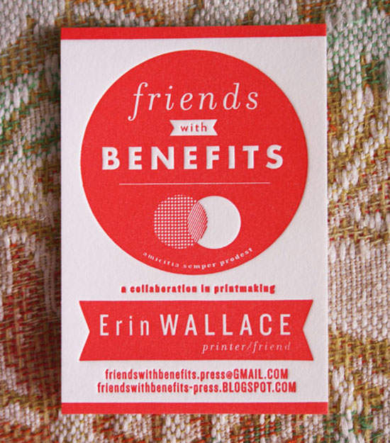 27 beautiful red business card designs friends with benefits press business card design red colourmoves Gallery