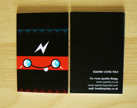 Creative Black and White Business Cards
