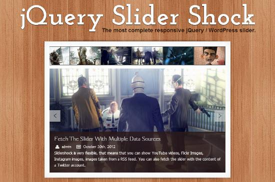 Free jQuery Slider Plugin