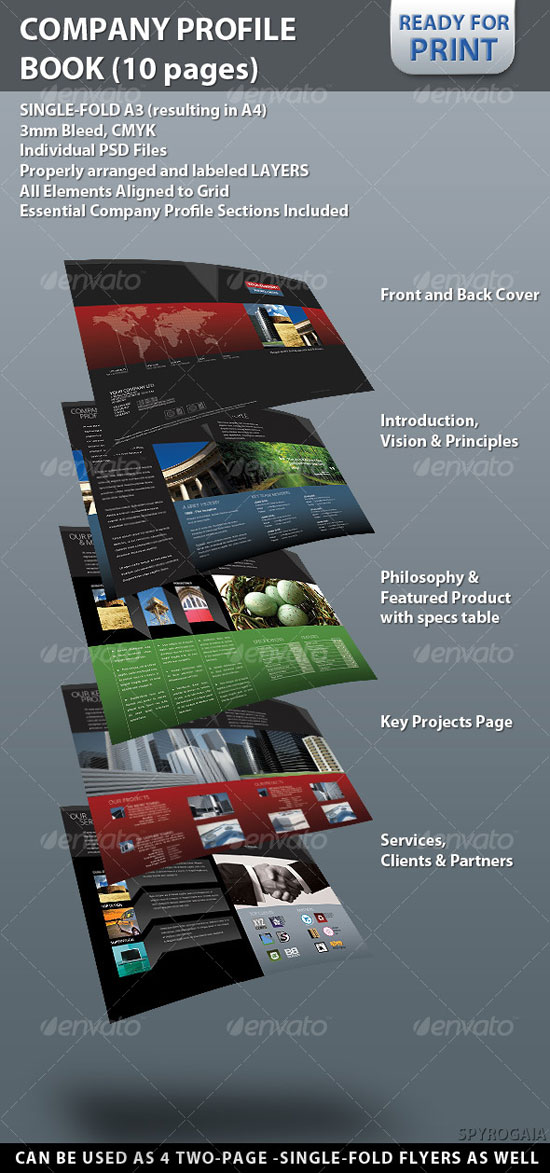 Professional Brochure and Postcard Designs