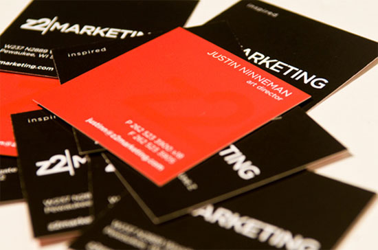 33 creative business cards using orange color creative business cards reheart Images