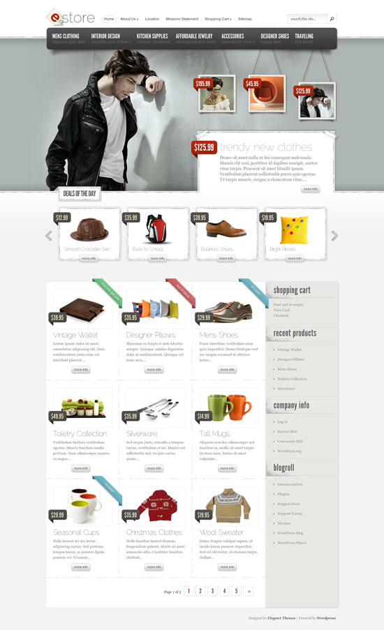 15 Best WordPress eCommerce Themes in 2012