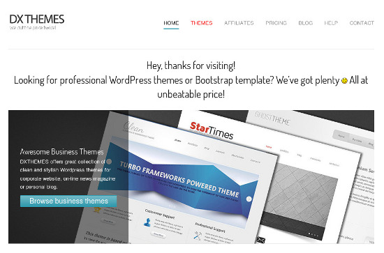 Giveaway Free Responsive Website Templates