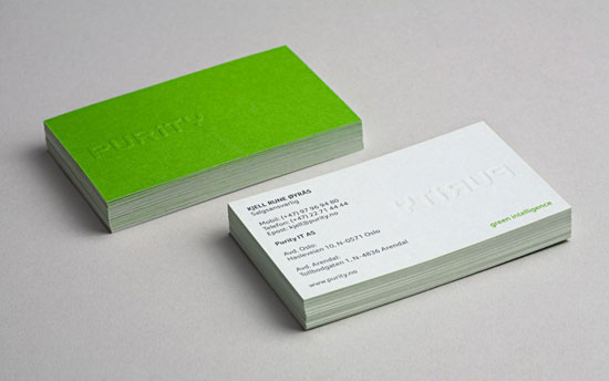 The beautiful design of 34 green business cards for Sustainable business cards