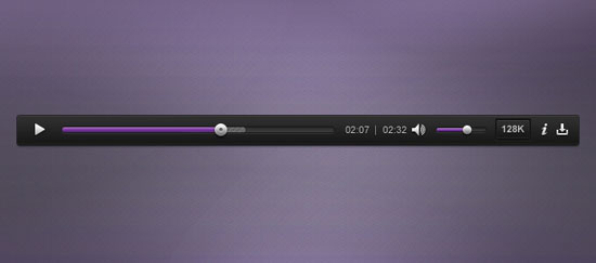 Creative Media Player PSD