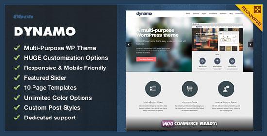 Blurred Background Website Templates