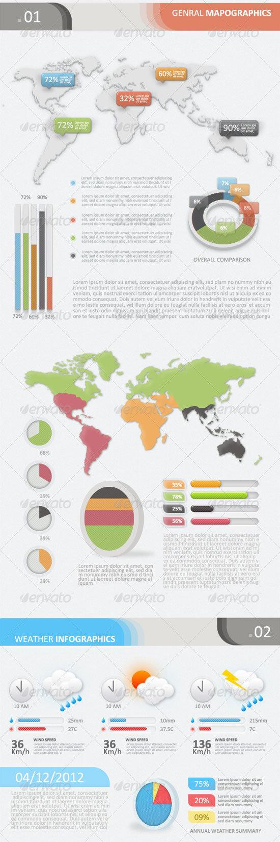 Infographic design kit illustrator