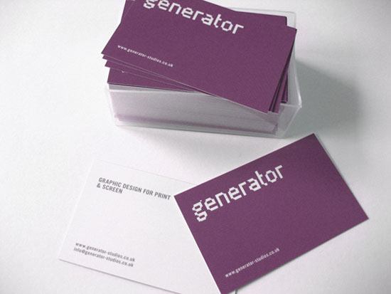 31 creative purple business cards to inspire you for Purple business cards