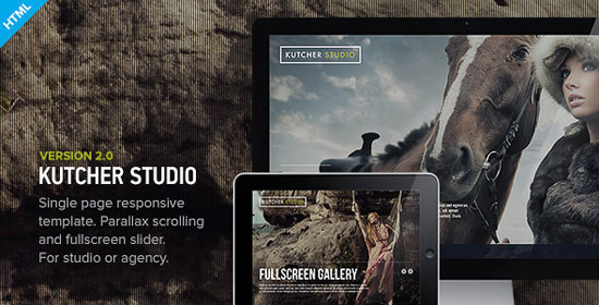 Parallax Scrolling Website Design