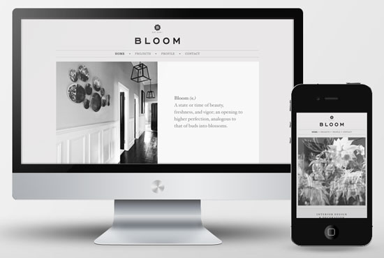 35 beautiful responsive portfolio websites for Websites for interior designers