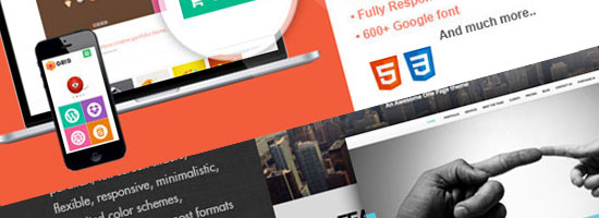 Responsive Portfolio Website Templates