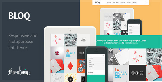 Flat Website Templates
