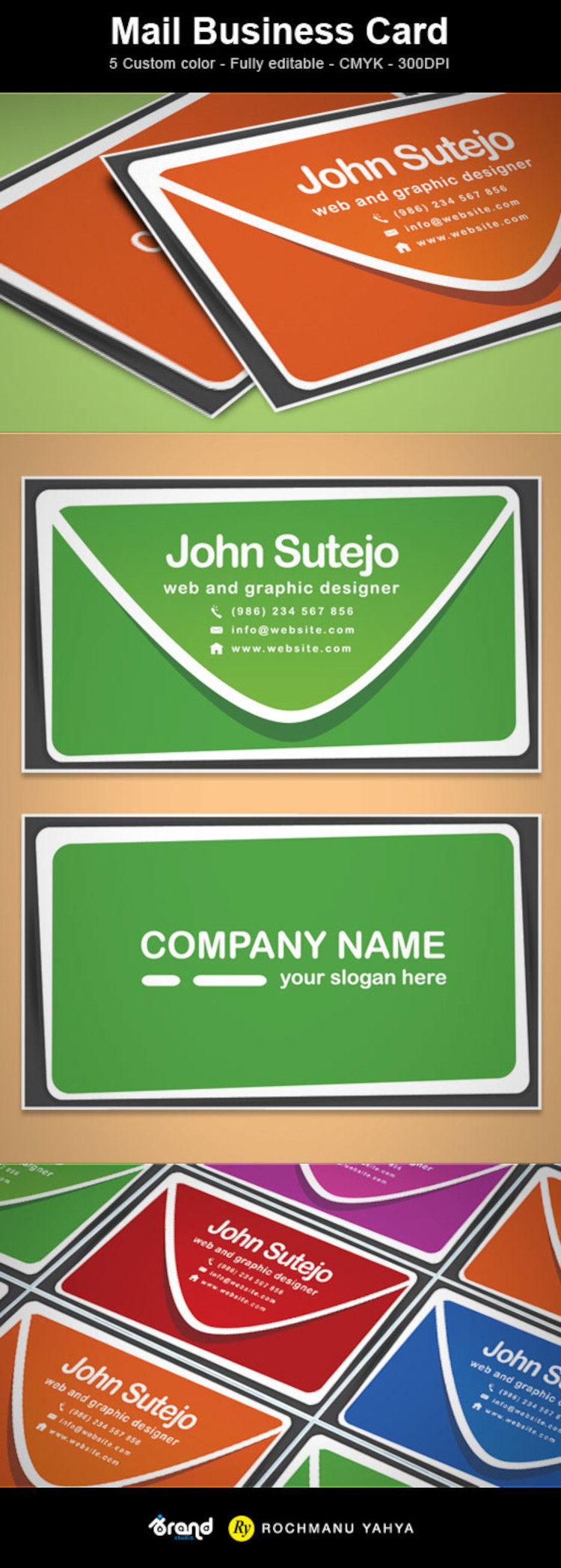 Free Mail Business Card Template