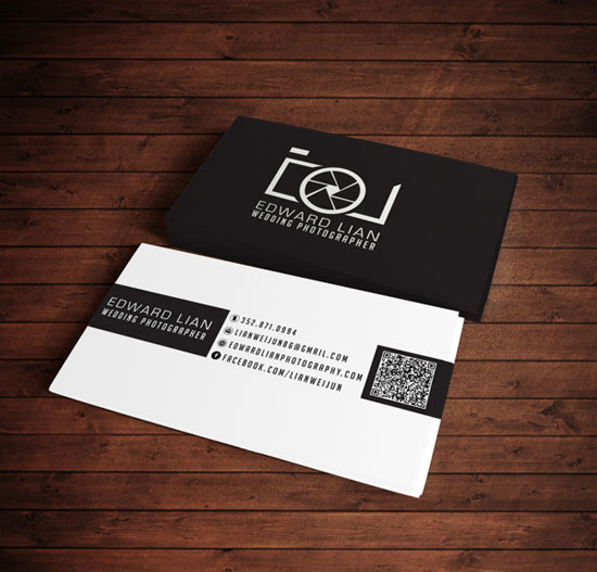 The most creative photographer business cards for Best business cards for photographers