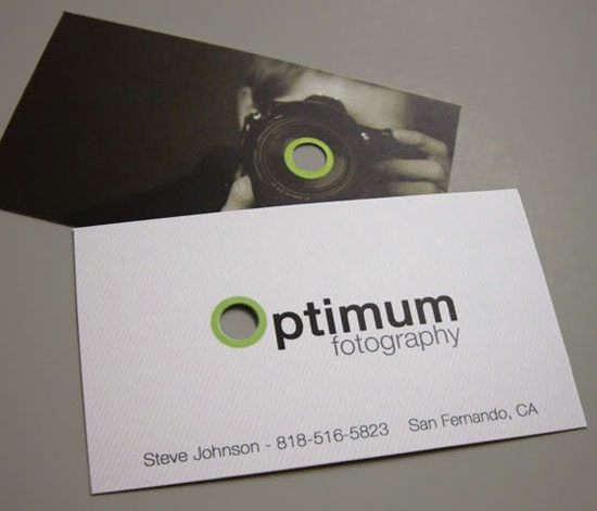 Photographer Business Cards