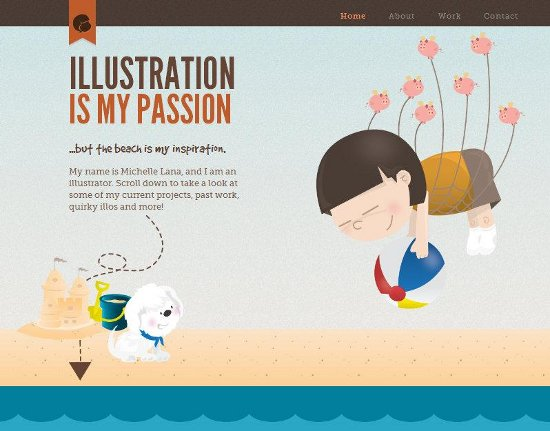 Illustration Web Designs