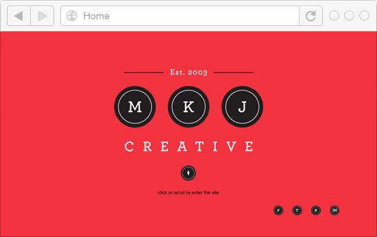 30 Best Portfolio Websites in Red Color