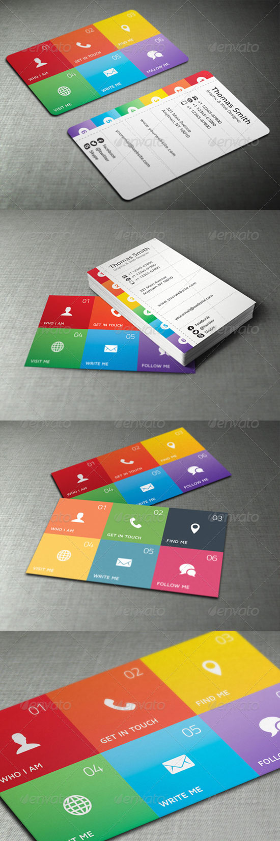 32 Creative Graphic Designer Business Cards
