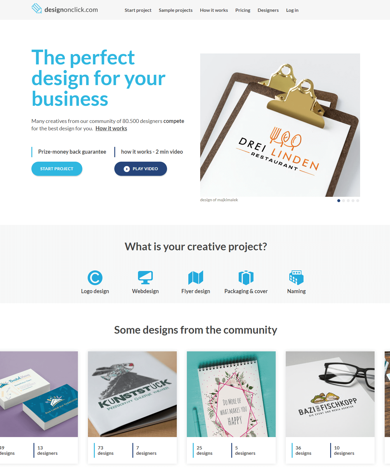 DesignOnClick  Best Logo Marketplace