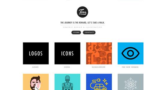 Illustrator Portfolio Websites