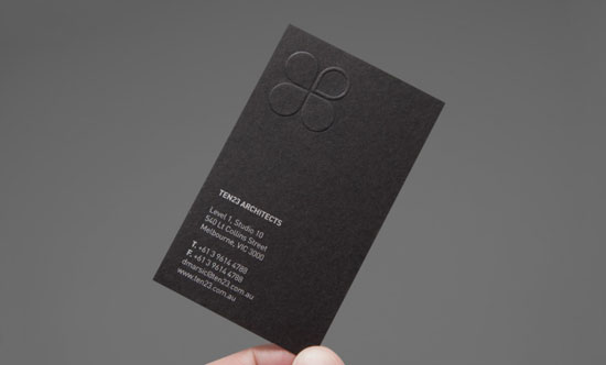 ten23 architects architect business cards - Architect Business Card