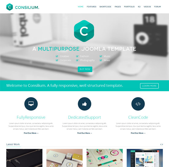 best free website templates - 18 impressive design agency website templates