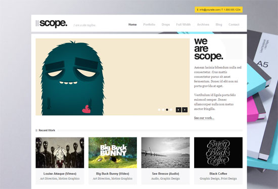 Best Design Agency Website Templates