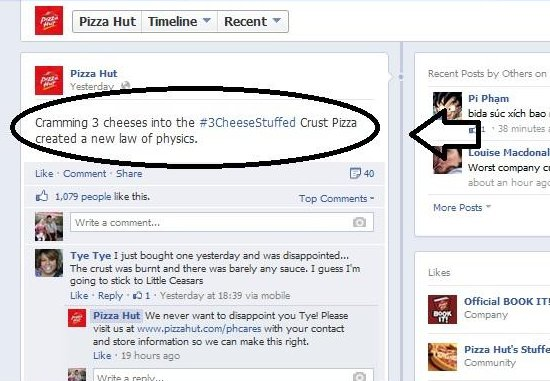 how to use hashtag on facebook page