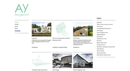 Architect Portfolio Websites
