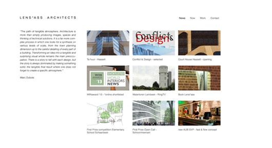 Architect Portfolio Websites