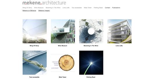 Beautiful Architect's Portfolio Websites