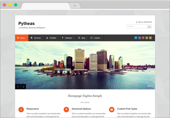 Free WordPress Portfolio Themes