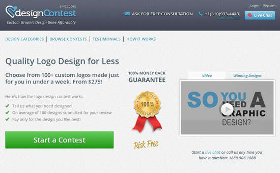 Logo Contest Websites