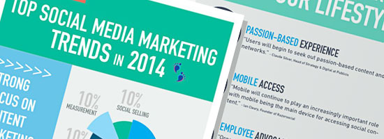 Social Media Marketing Trends 2014 Infographic
