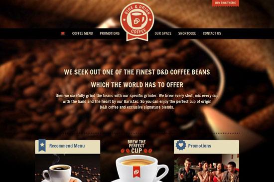 Restaurant Website Templates