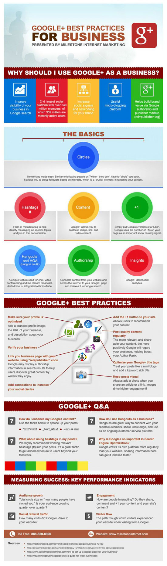 Google+ for Business Tips
