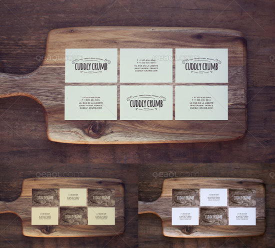 42 PSD Templates To Mockup Your Business Card Designs