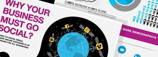 Use Social Media for Business Infographic