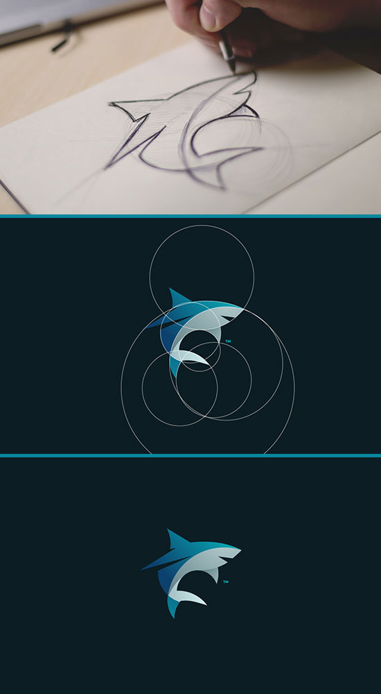 Awesome Circle Animal Logos With Tom Anders Watkins